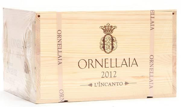 6 bts. Ornellaia, Tenuta dell'Ornellaia, Bolgheri 2012 A (hf/in). Owc.