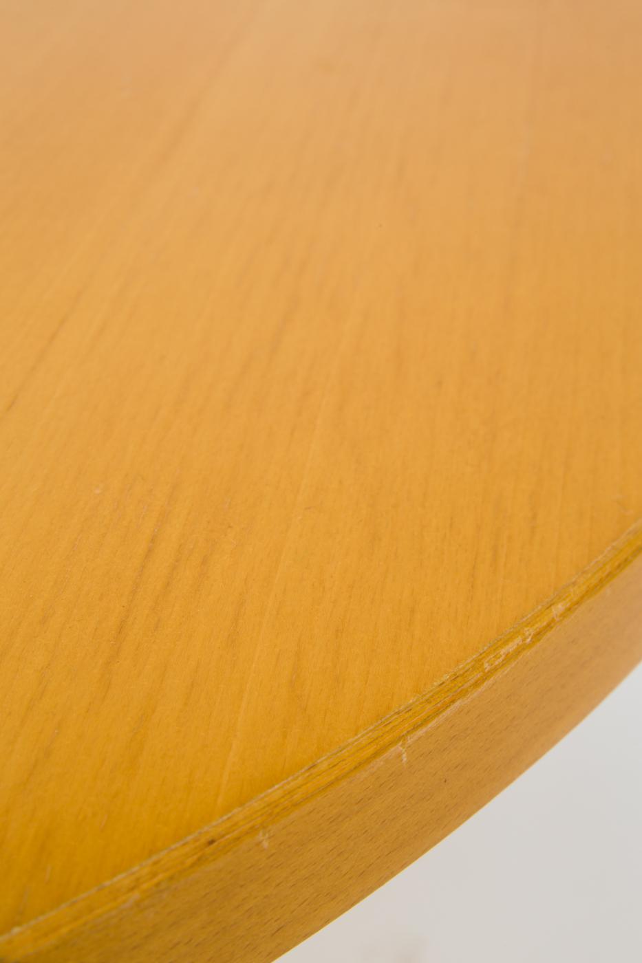 Jean Prouvé, dining table model Guéridon Table by Vitra 2002