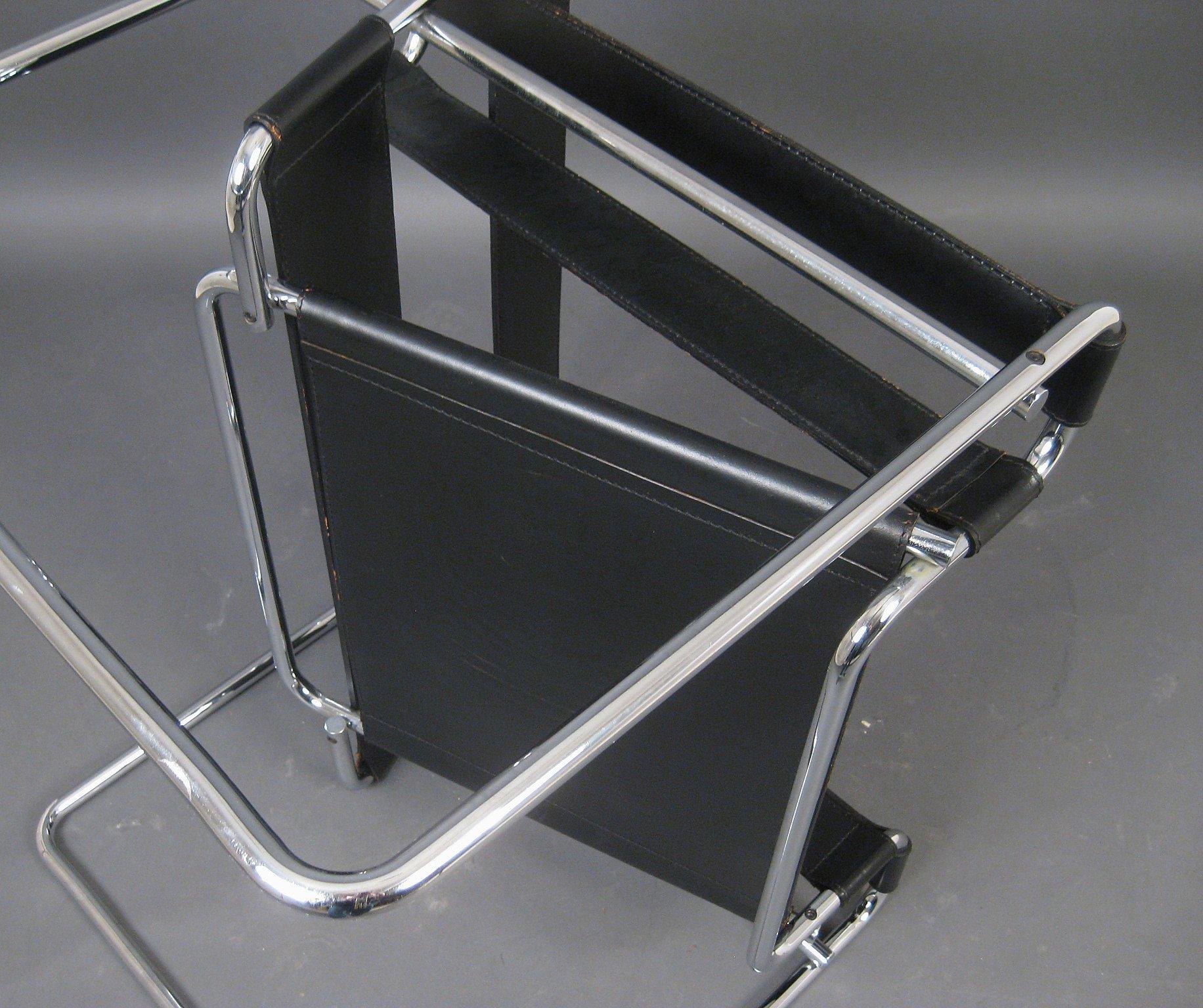 Marcel Breuer, Bauhaus chair model Wassily by Knoll International