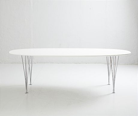 Dining table and Bruno Mathsson Piet Hein