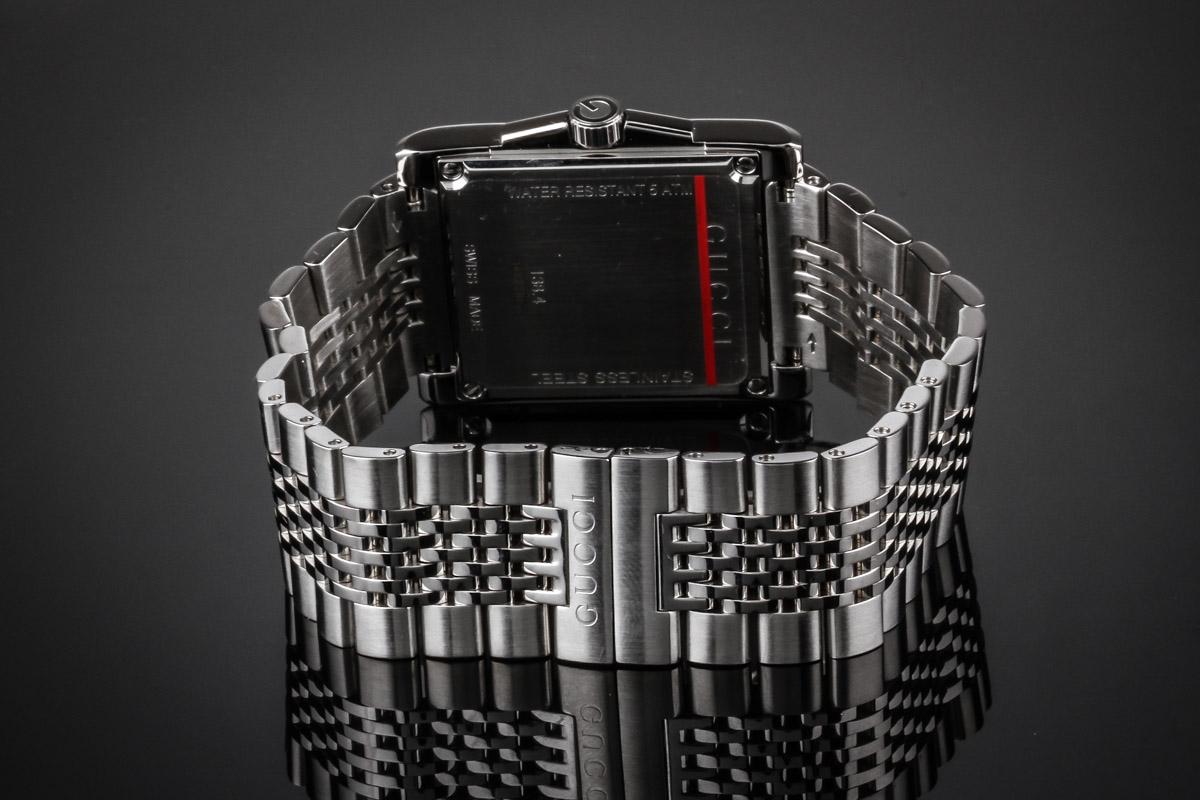 Gucci men's watch steel ref. YA138403