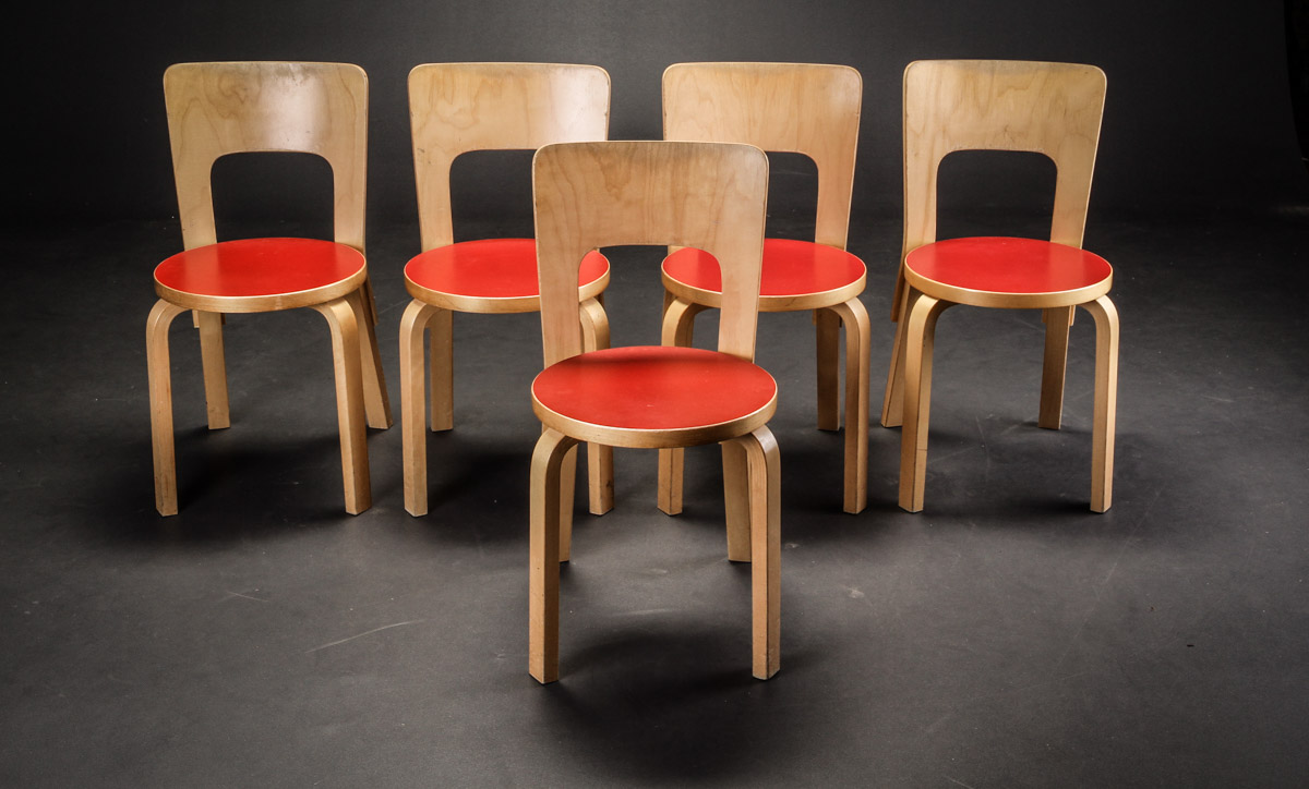 Alvar Aalto. Children's furniture (6)
