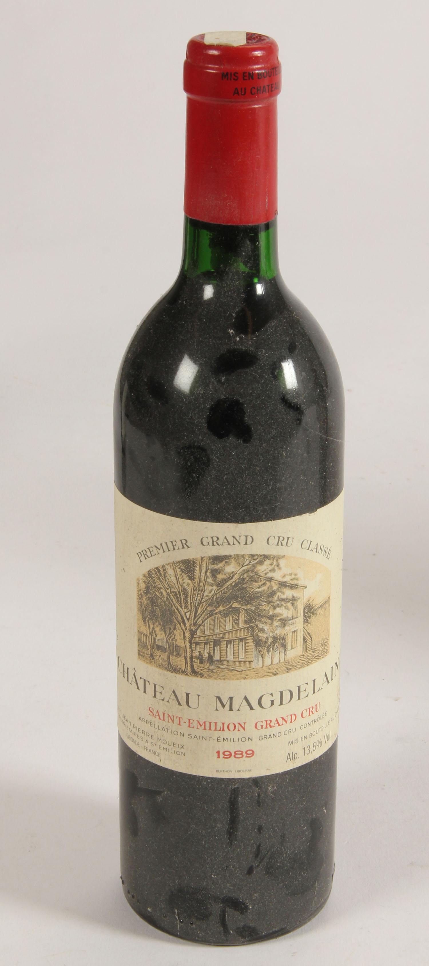 Collection of wine: Saint Emilion 1er Grand Cru and Premier Grand Cru (8)