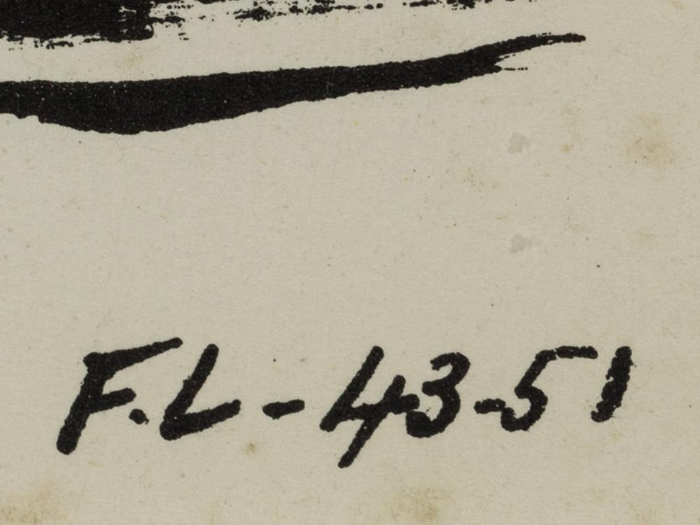 Fernand Léger, Lithograph, 'La Partie de Campagne', 1952