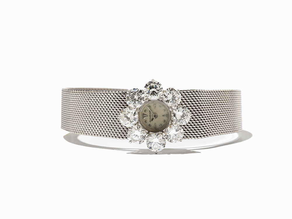 Jaeger-LeCoultre Diamond Ladies' Watch, Switzerland, C. 1960