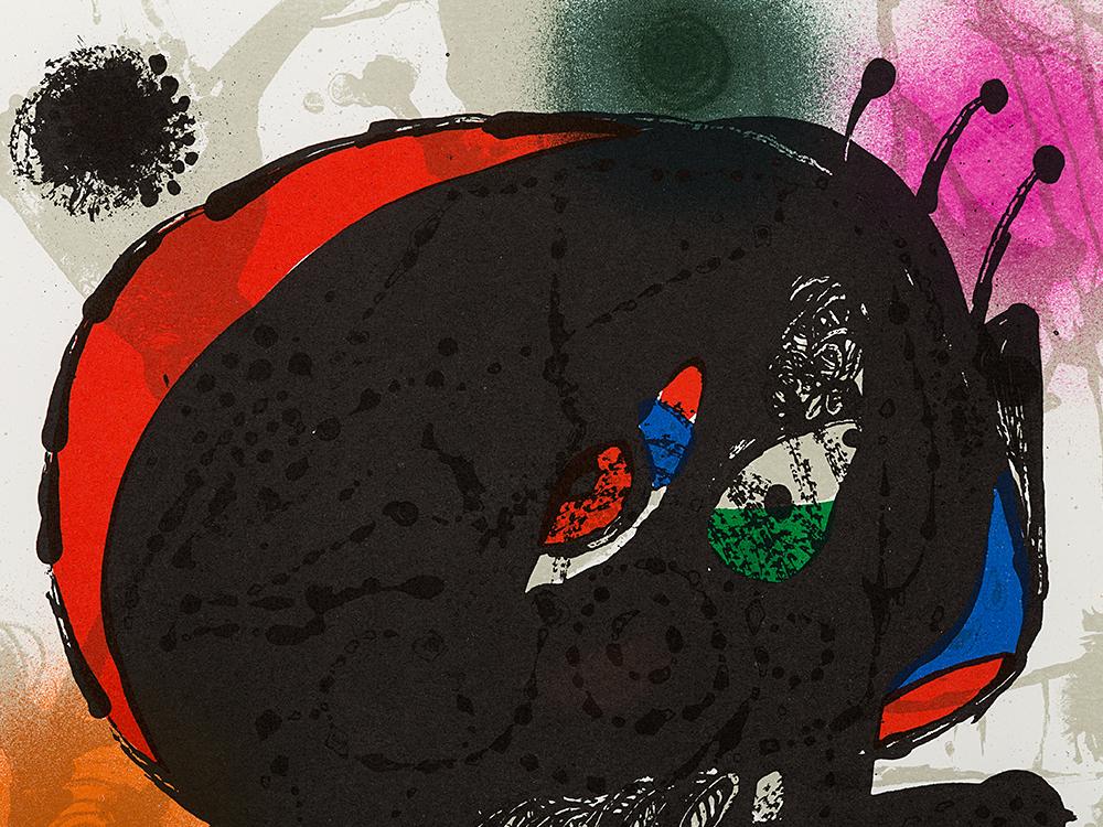 Joan Miró, Plate III, 'Joan Miró – Der Lithograph III', 1977