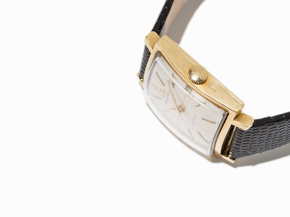 Jaeger-LeCoultre Gold Wristwatch, Switzerland, Around 1970