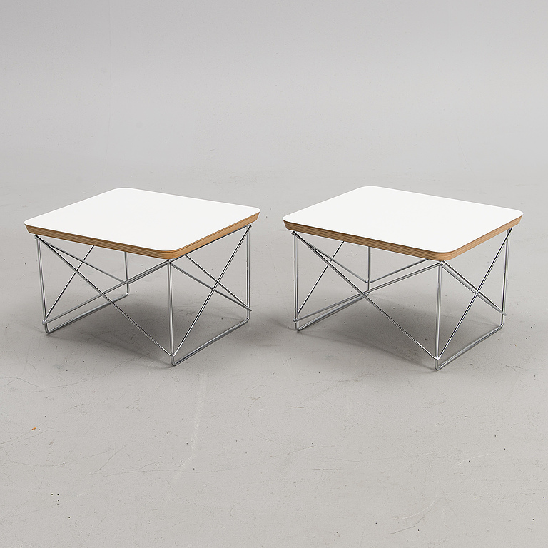 COFFEE TABLE. 2, Charles & Ray Eames LTR Occasional Table, Vitra Design Museum, 1999.