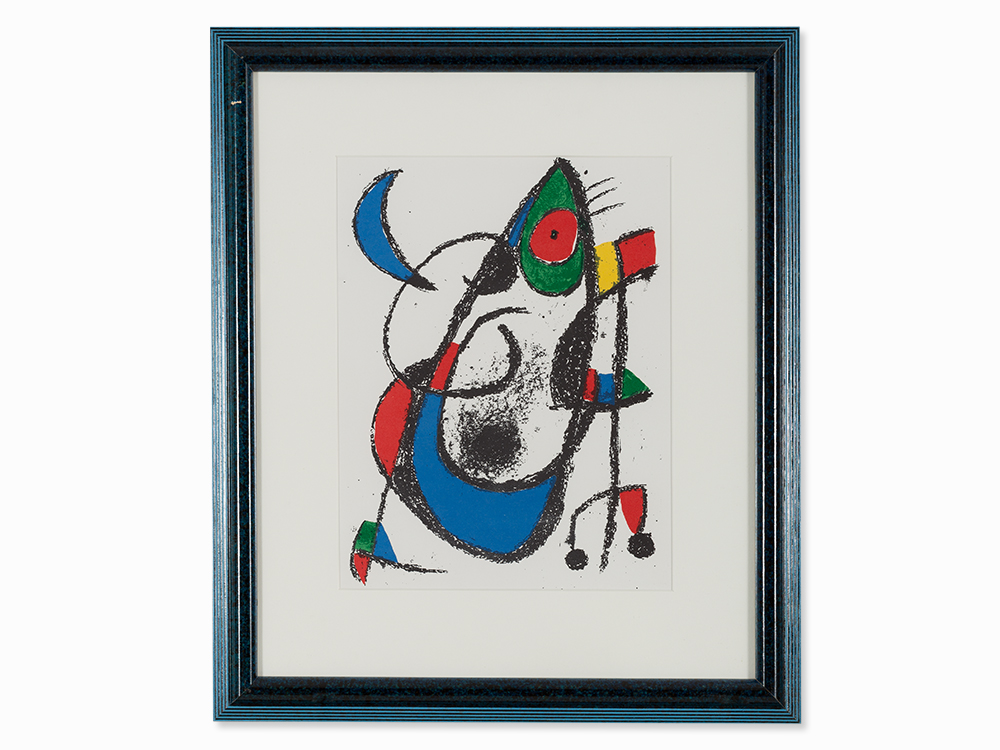 Joan Miró, Plate XI from 'Joan Miró – Lithographe II', 1975