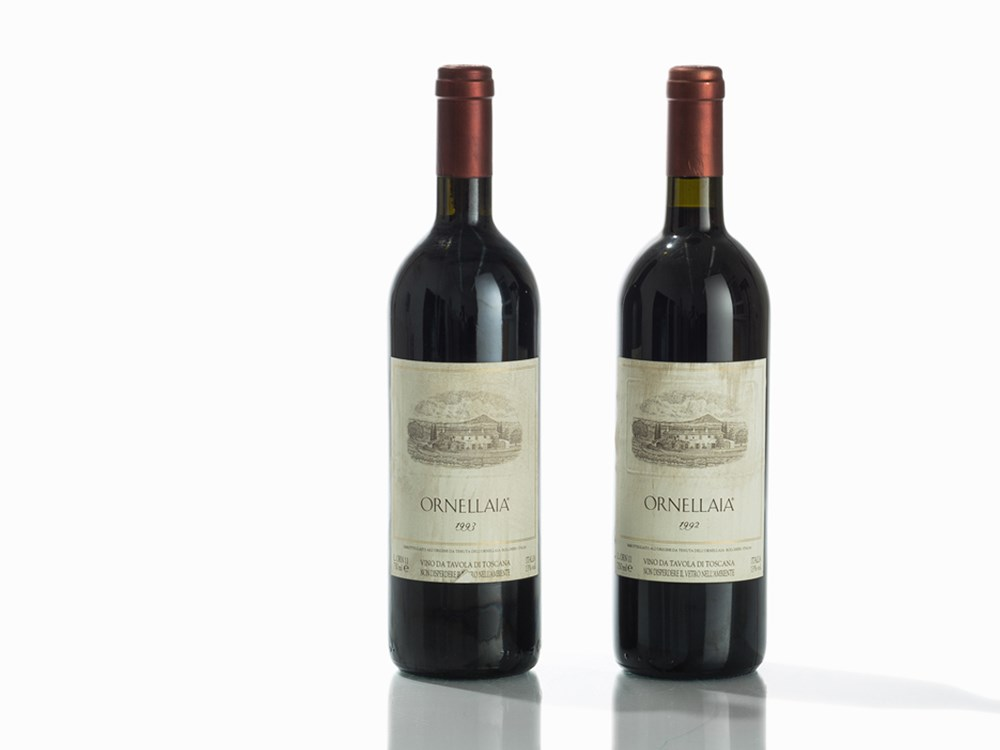 2 Bottles 1992/1993 Ornellaia, Bolgheri