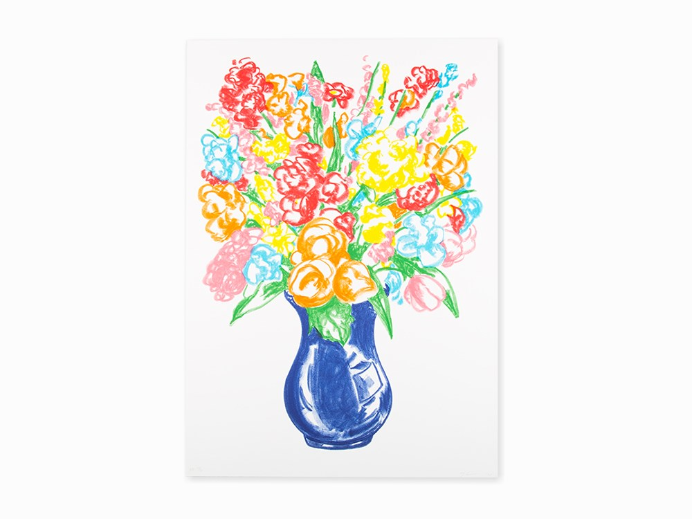 Jeff Koons, 'Flowers', Lithograph, 2001