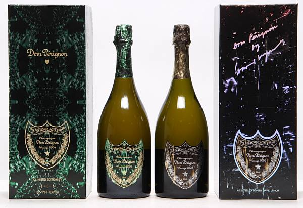 1 bt. Champagne Dom Pérignon, Moët et Chandon 2004 A (hf/in). Oc. etc. Total 2 bts.