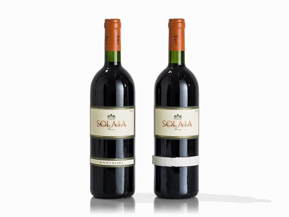 2 Bottles 1994 Antinori Solaia, Vino da Tavola