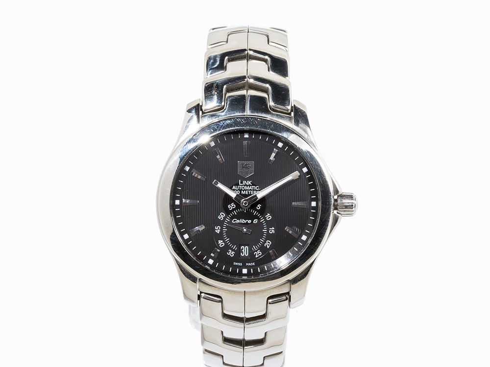 TAG Heuer Link Calibre 6, Ref. WJF211A, Switzerland, c. 2010