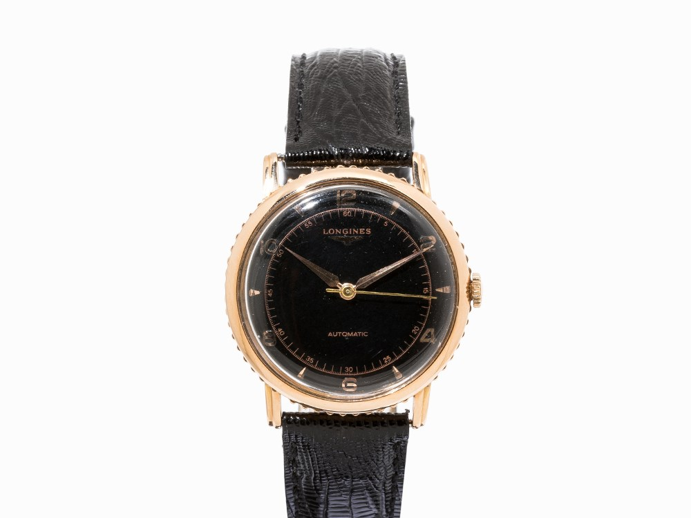 Longines Automatic Wristwatch, Switzerland, c. 1950