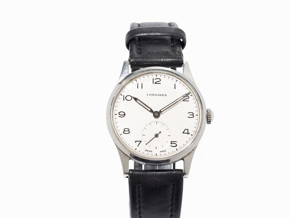 Longines Vintage Wristwatch, Switzerland, c. 1951