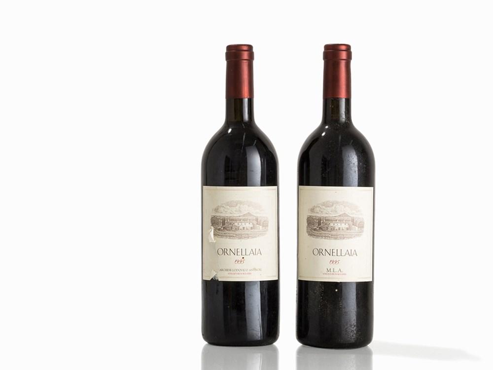2 Bottles 1995 Ornellaia, Bolgheri
