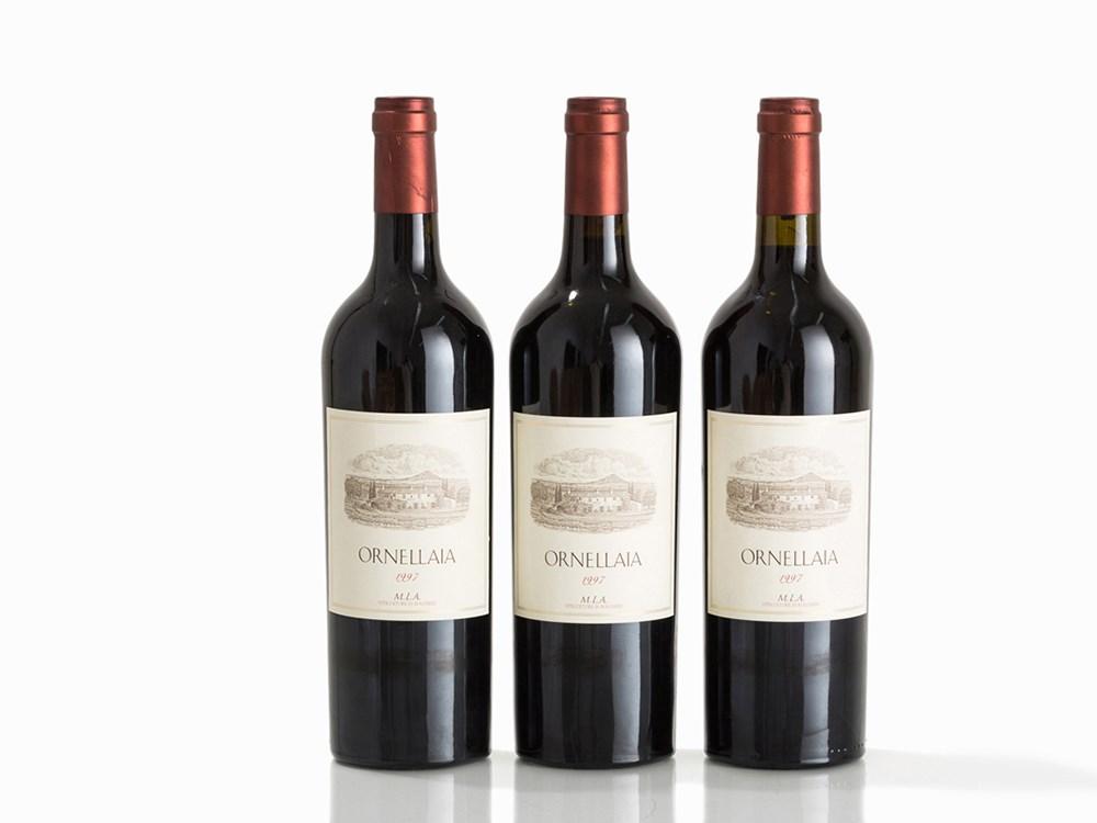 3 Bottles 1997 Ornellaia, Bolgheri