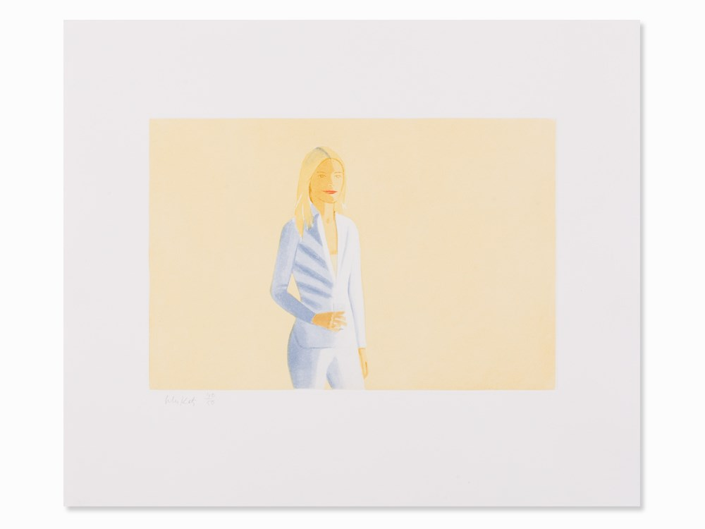 Alex Katz, Sissel, Aquatint in Colors, 2006