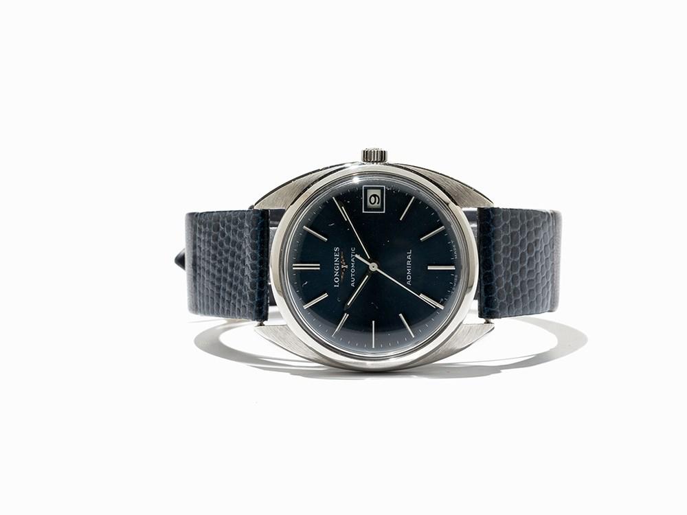 Longines Admiral Wristwatch, Ref. 2310-2, Switzerland, C. 1970