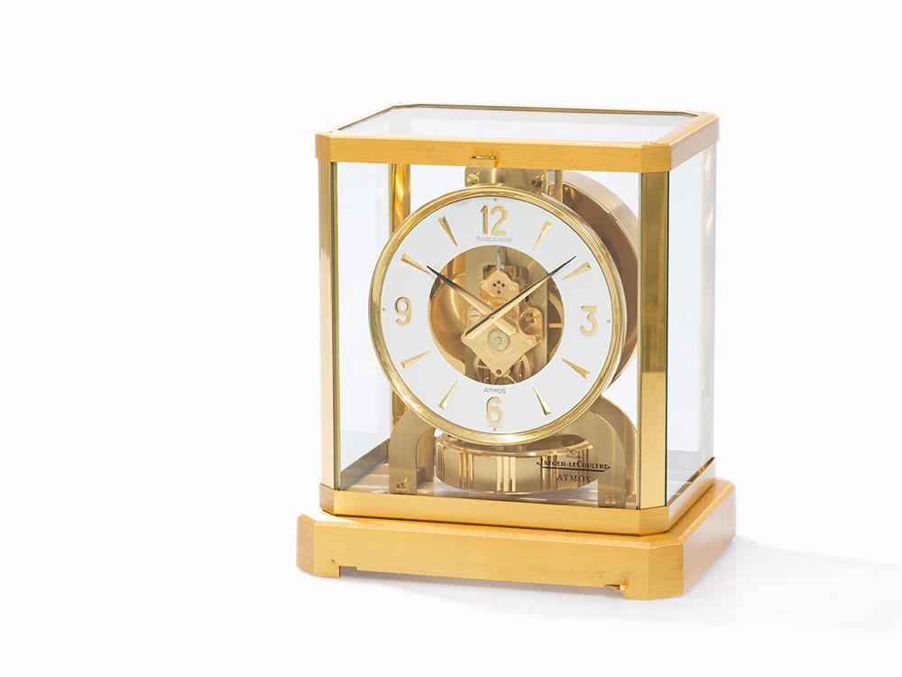 Jaeger-LeCoultre, Atmos Mantel Clock, Switzerland, c. 1972