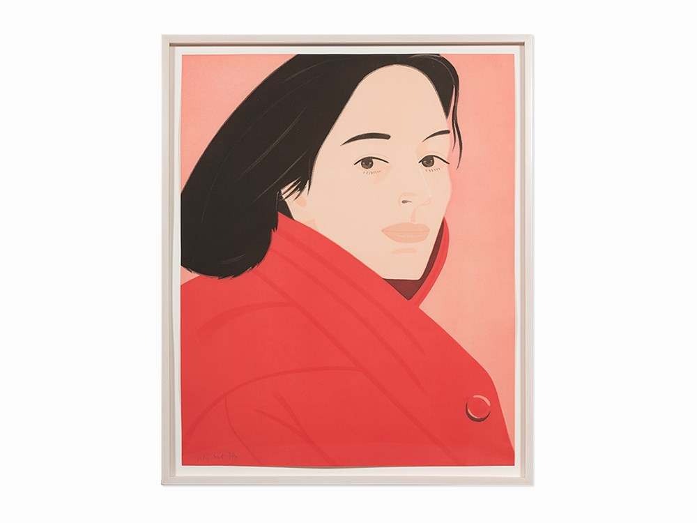 Alex Katz, 'Brisk Day III', Aquatint, 1990