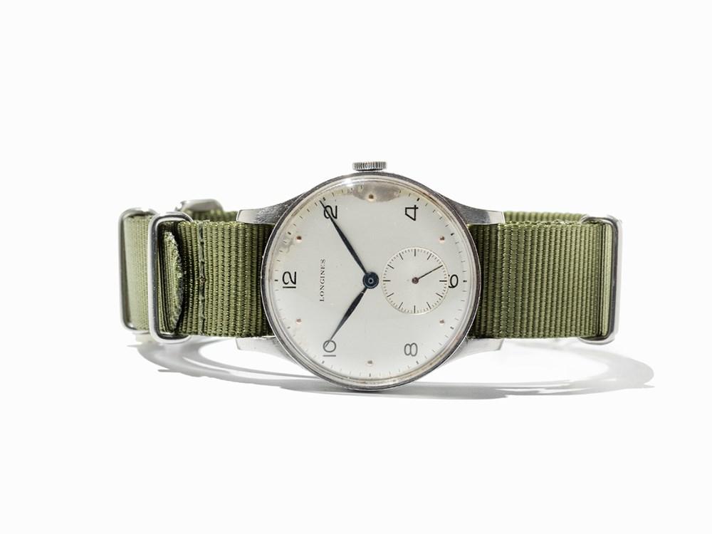 Longines Vintage Wristwatch, Switzerland, C. 1946