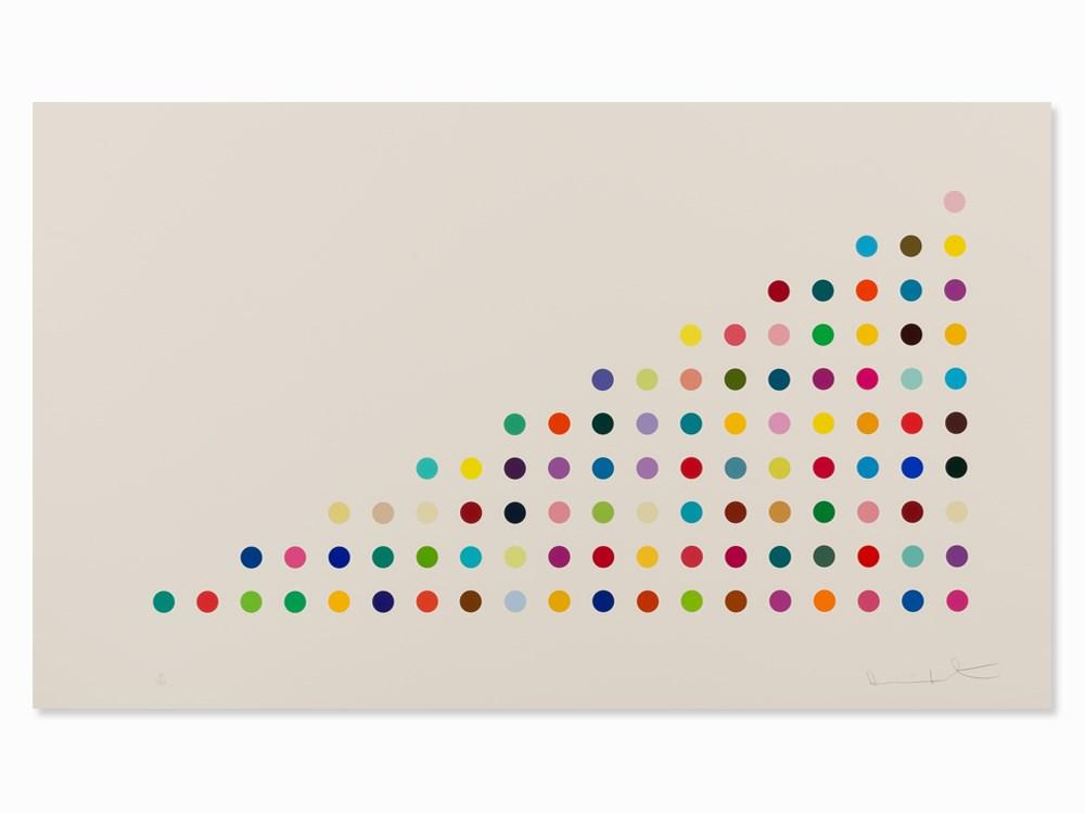 Damien Hirst, Phendimetrazine, Serigraph in Colors, 2011