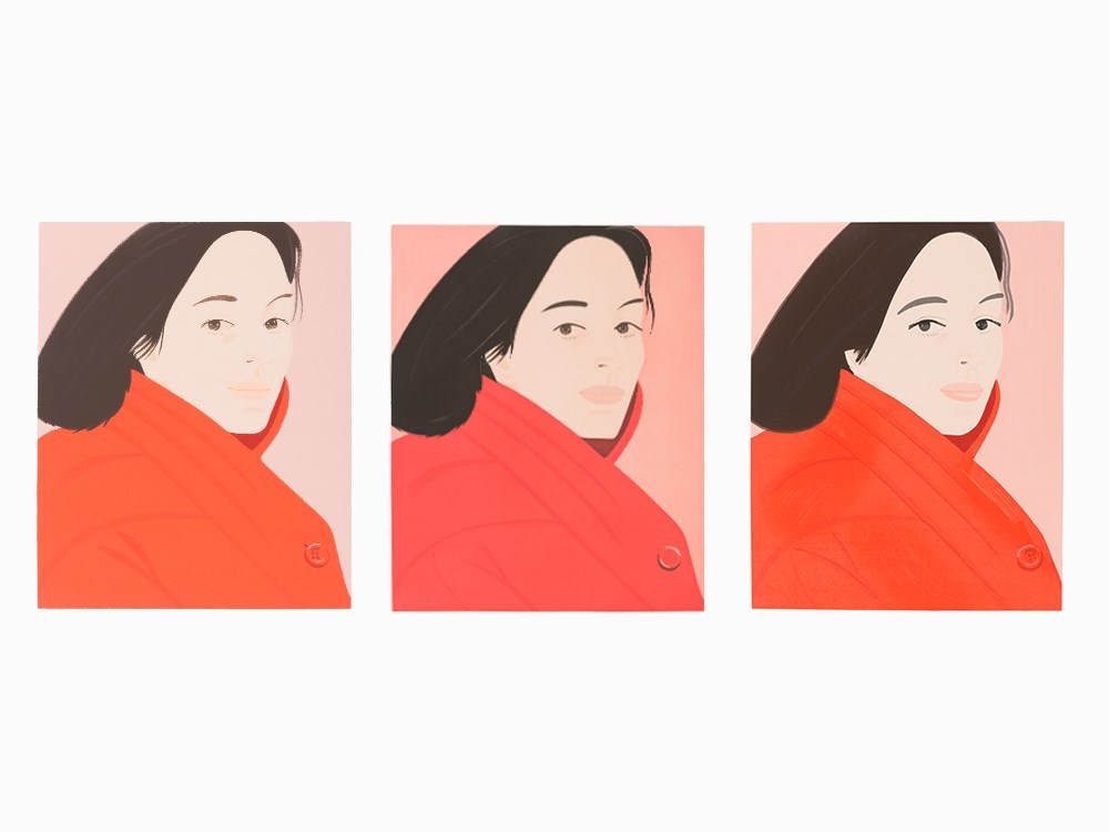 Alex Katz, 'Brisk Day I, II and III', Set of 3 Prints, 1990