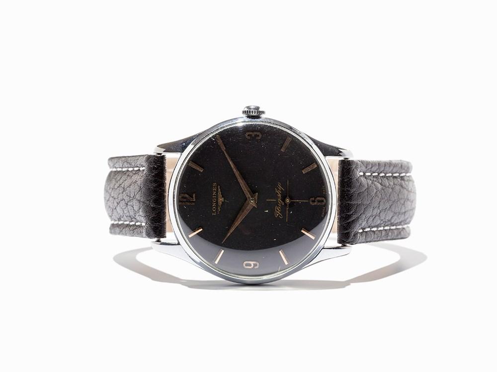 Longines Flagship Wristwatch, Switzerland, Around 1960