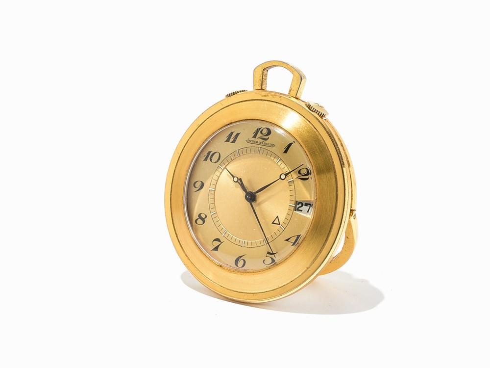 Jaeger-LeCoultre Travel Clock, Switzerland, C. 1993