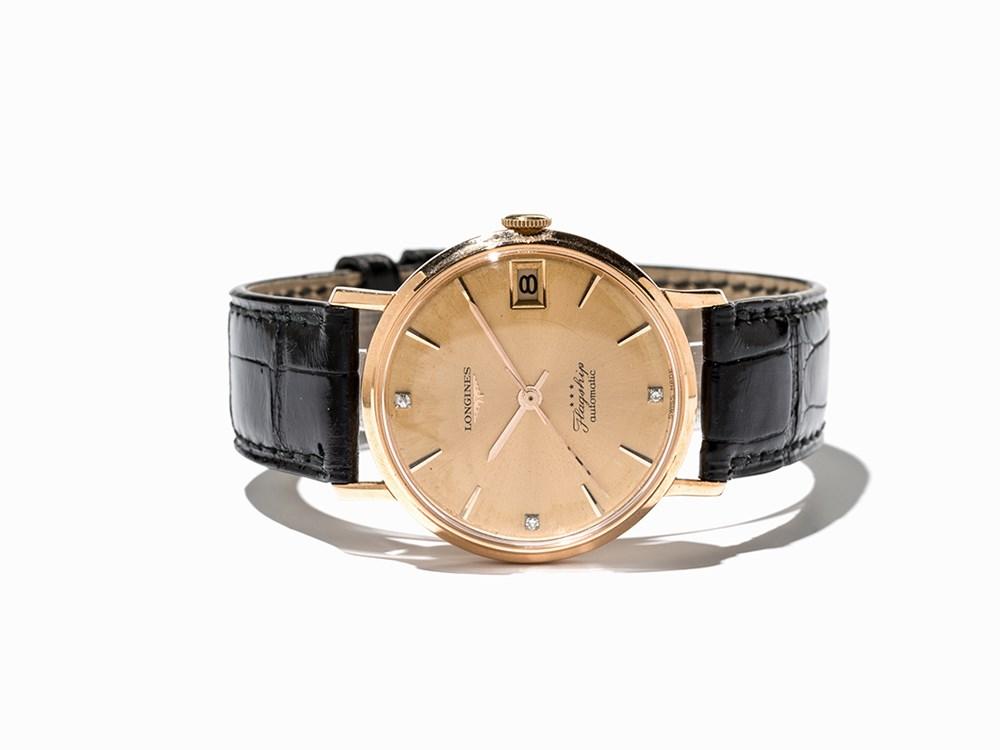 Longines Flagship Wristwatch, Ref. 3517, Switzerland, C. 1966