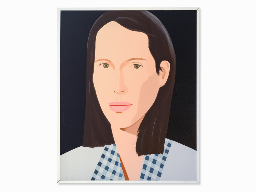 Alex Katz, Christy, Serigraph in Colors, 2013