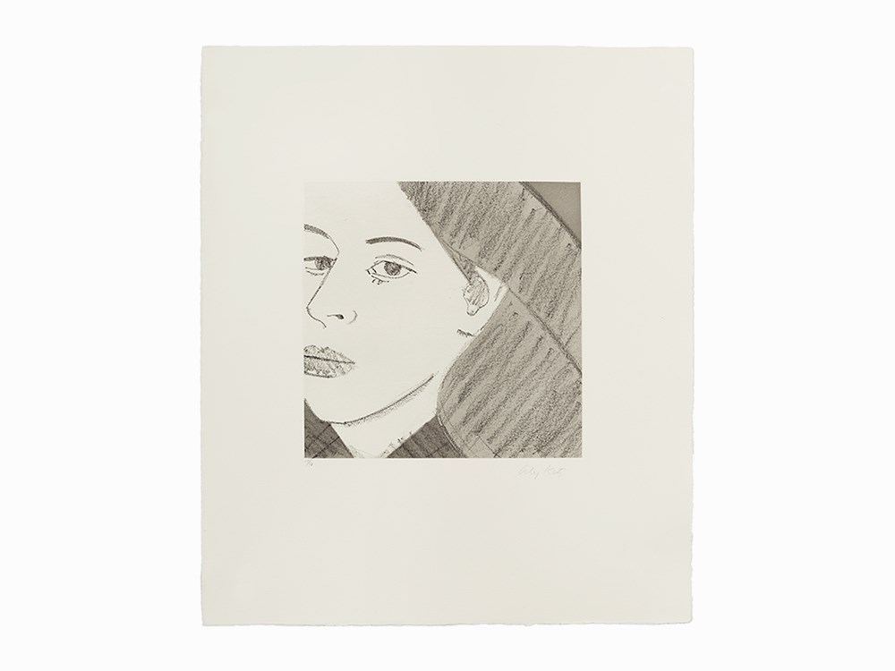 Alex Katz, Aquatint, Untitled from 'Light as Air', USA, 1987