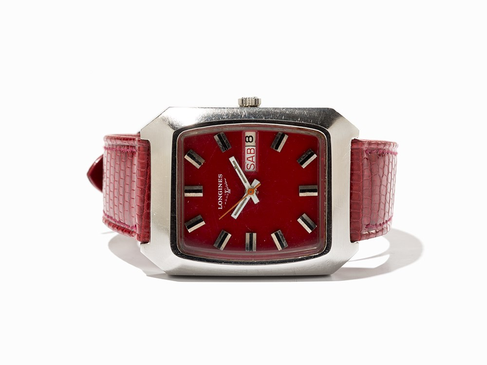 Longines Wristwatch, Switzerland, Around 1973