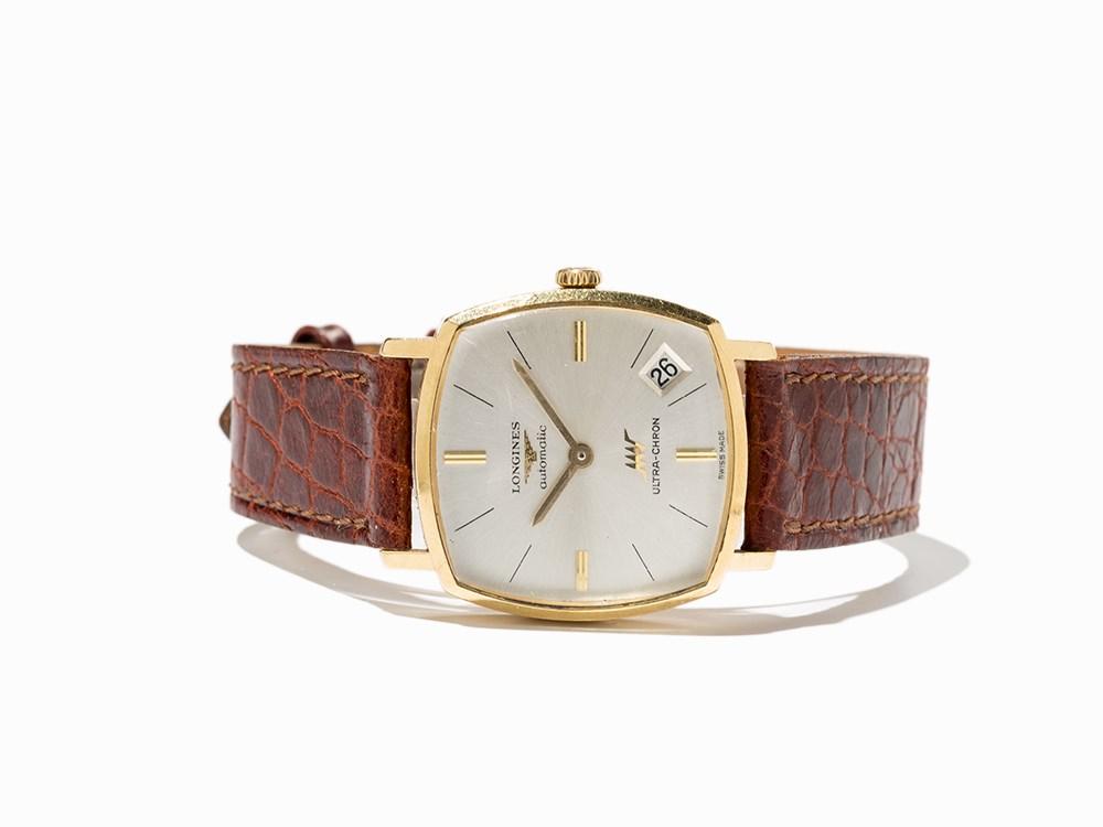 Longines Ultra-Chron Wristwatch, Switzerland, Around 1970