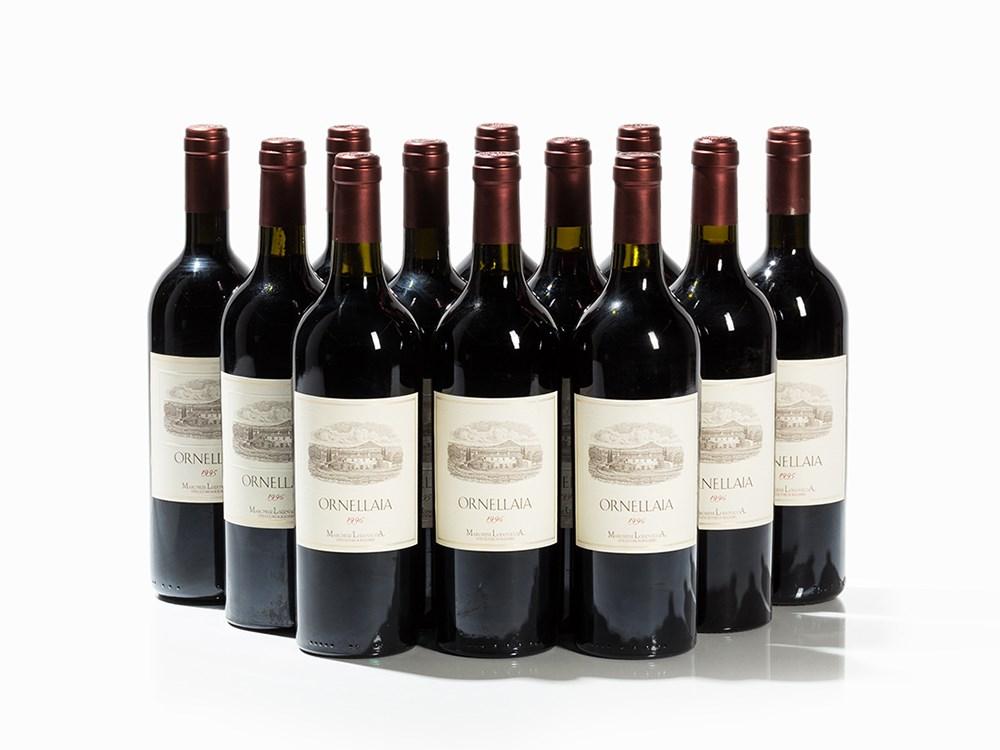 12 Bottles 1995/1996 Ornellaia, Bolgheri