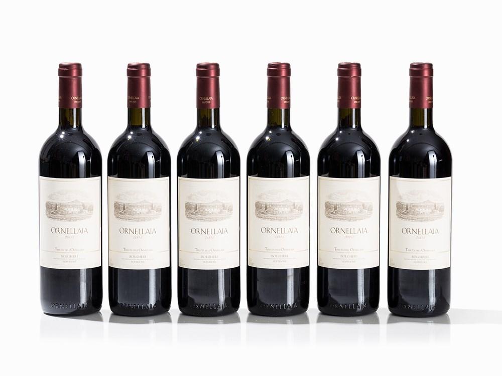 6 Bottles 2005 Ornellaia, Bolgheri