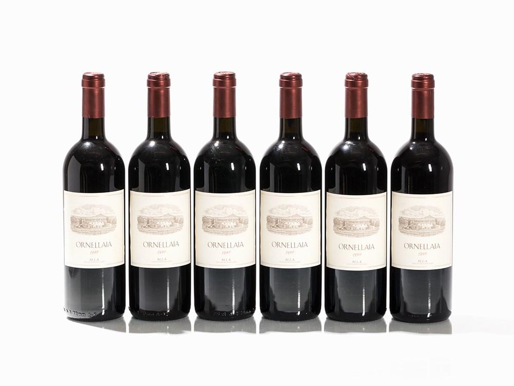 6 Bottles 1998 Ornellaia, Bolgheri
