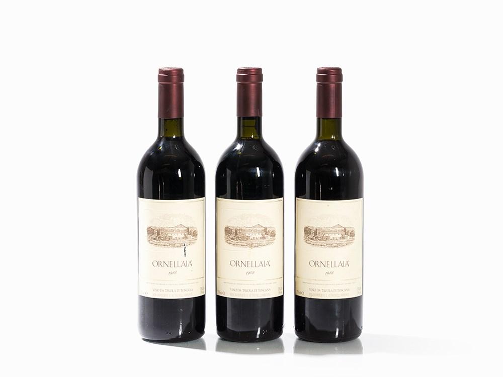 3 Bottles 1988 Ornellaia, Bolgheri