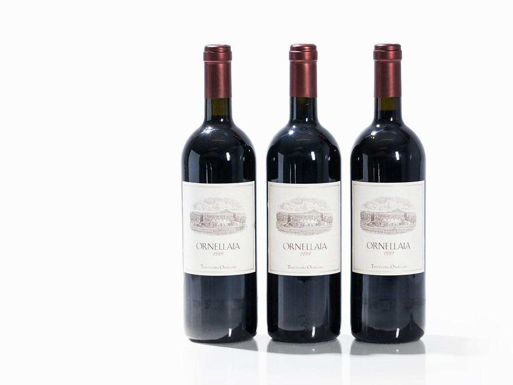 3 Bottles 1999 Ornellaia, Bolgheri