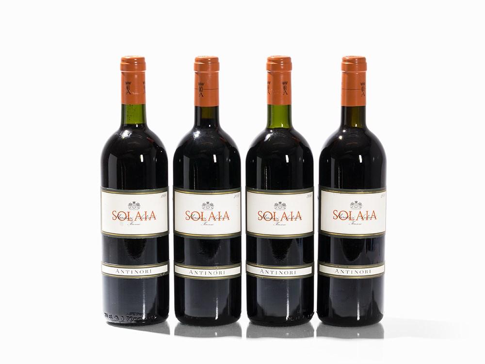 4 Bottles 1998/2000 Antinori Solaia, Toscana IGT
