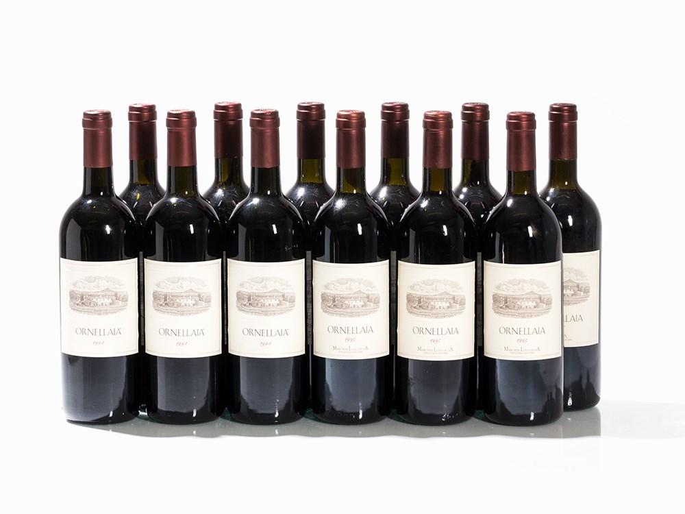 12 Bottles 1994/1995 Ornellaia, Bolgheri