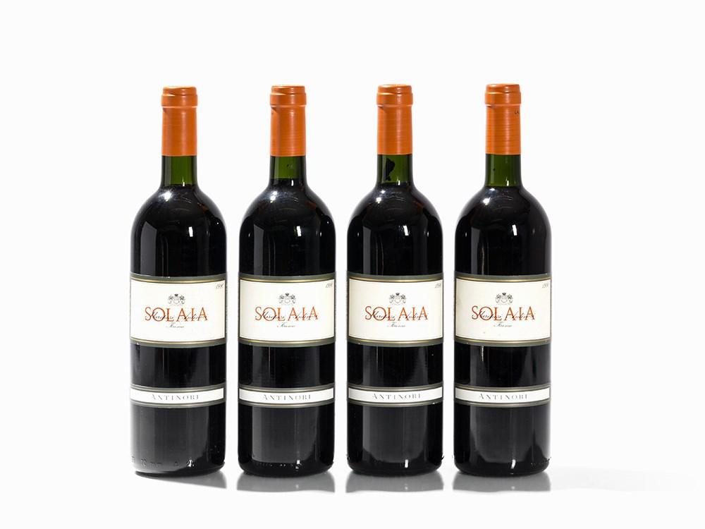 4 Bottles 1990 Antinori Solaia, Vino da Tavola