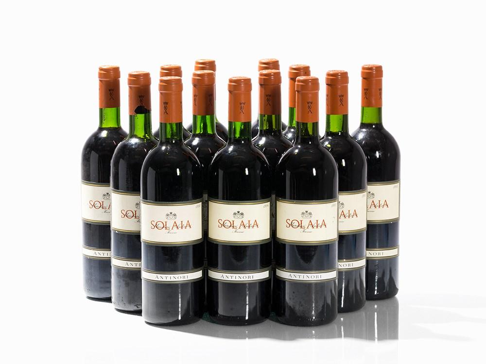 13 Bottles 1993/1994/1995 Antinori Solaia, Vino da Tavola