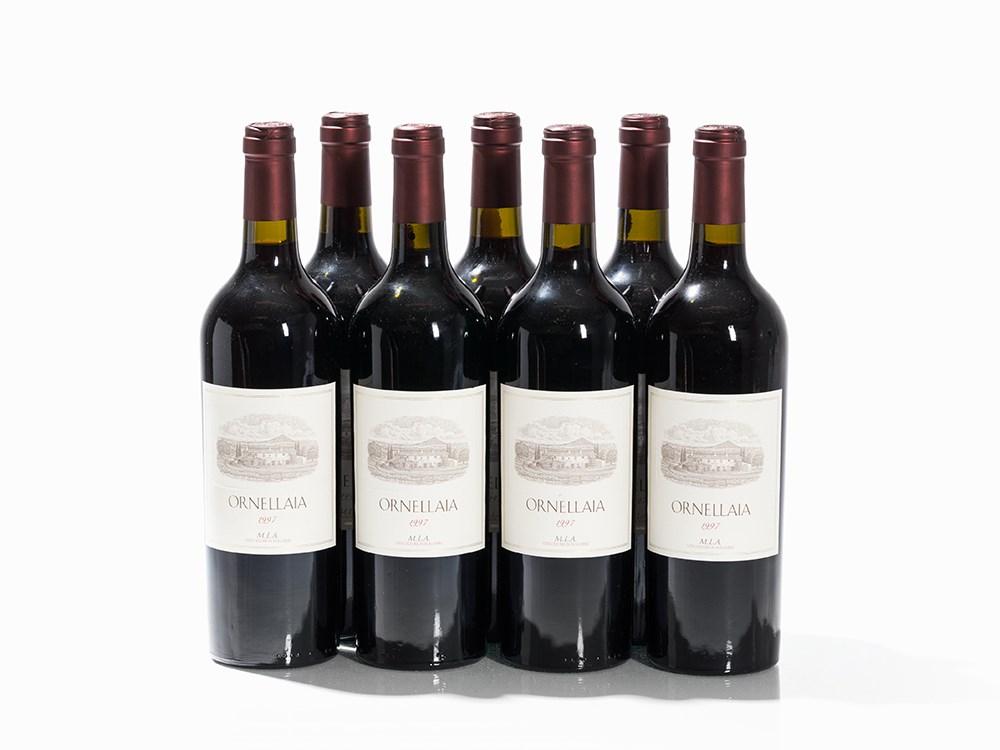 7 Bottles 1997 Ornellaia, Bolgheri