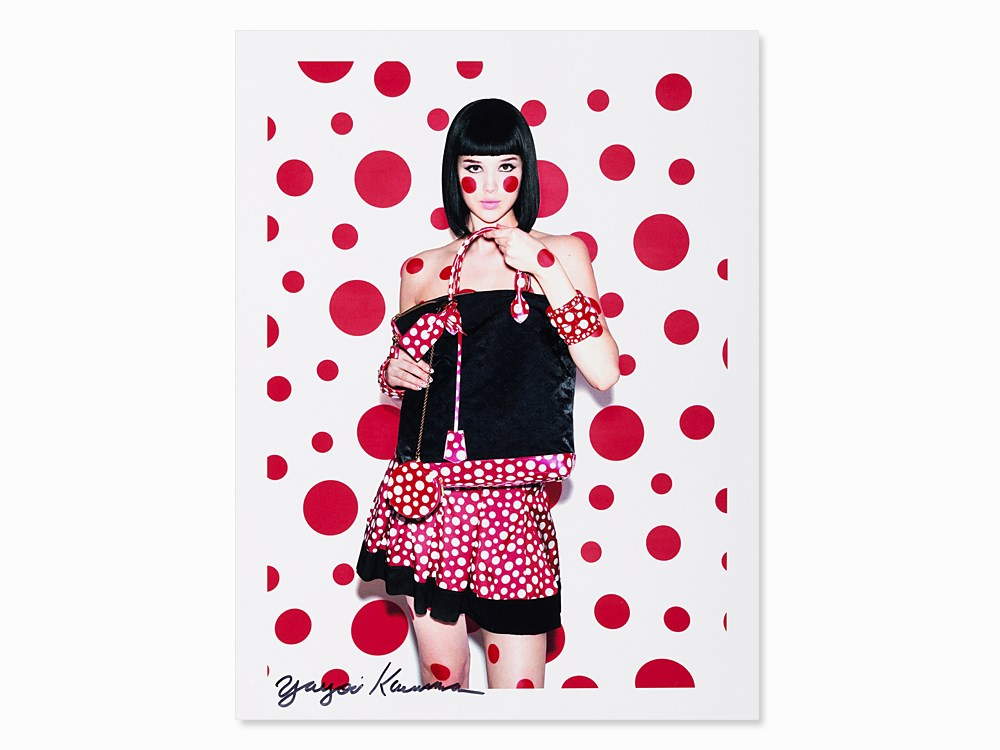 Yayoi Kusama, Polka Dots, for Louis Vuitton, Digital Print,2012