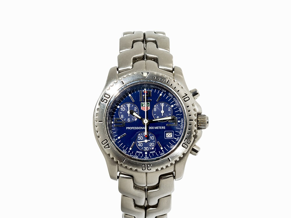 TAG Heuer Professional Chronograph, Ref. CT 1110, C. 2001
