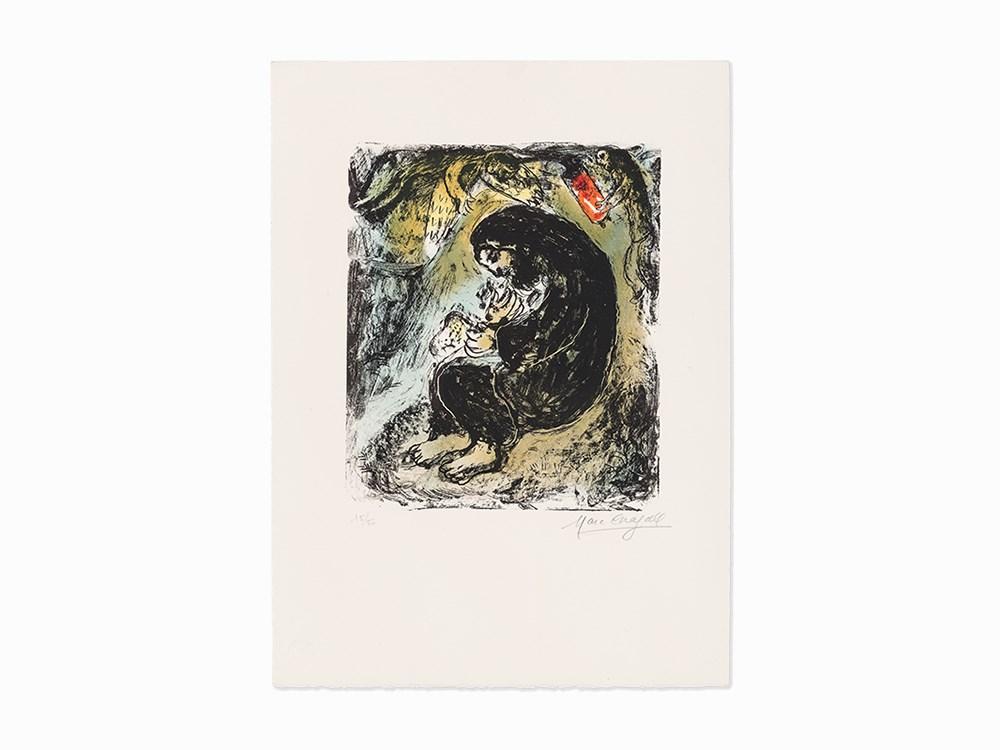 Marc Chagall, 'Méditation', Lithograph, 1979