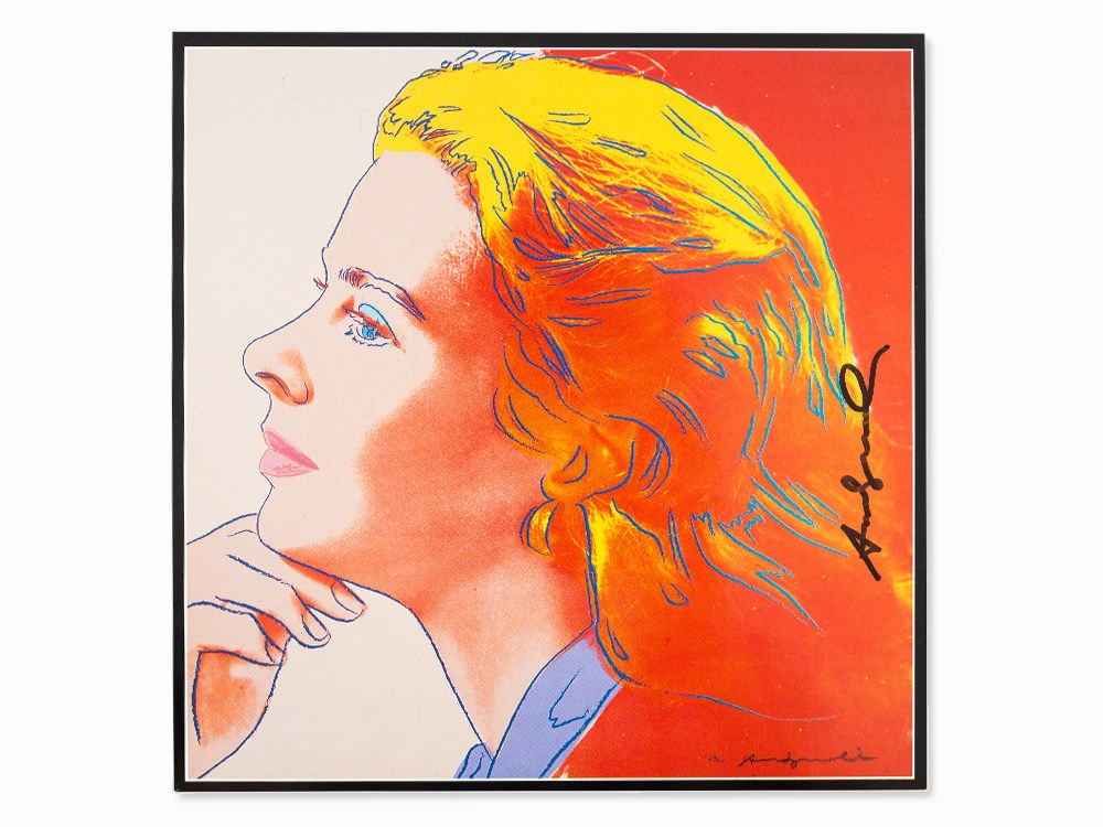 After Andy Warhol, Offset, Ingrid Bergman Herself, 1983